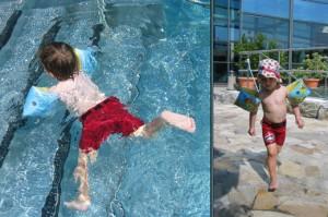 Brezplačen test plavalnih rekvizitov